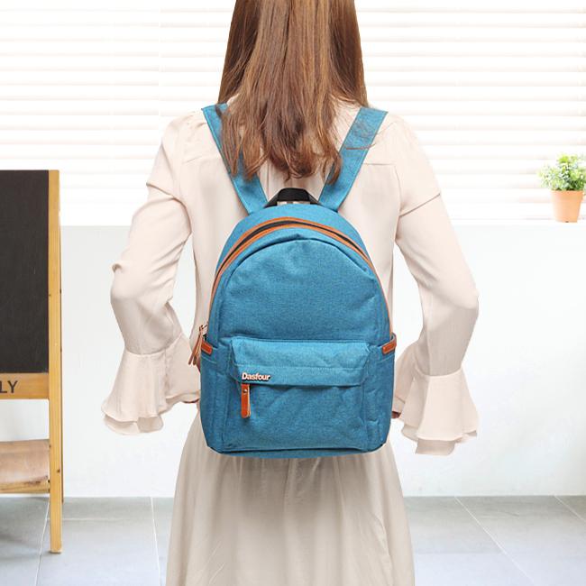 심플 포켓 백팩(블루) [제작 대량 도매 로고 인쇄 레이저 마킹 각인 나염 실크 uv 포장 공장 문의는 네이뽕]