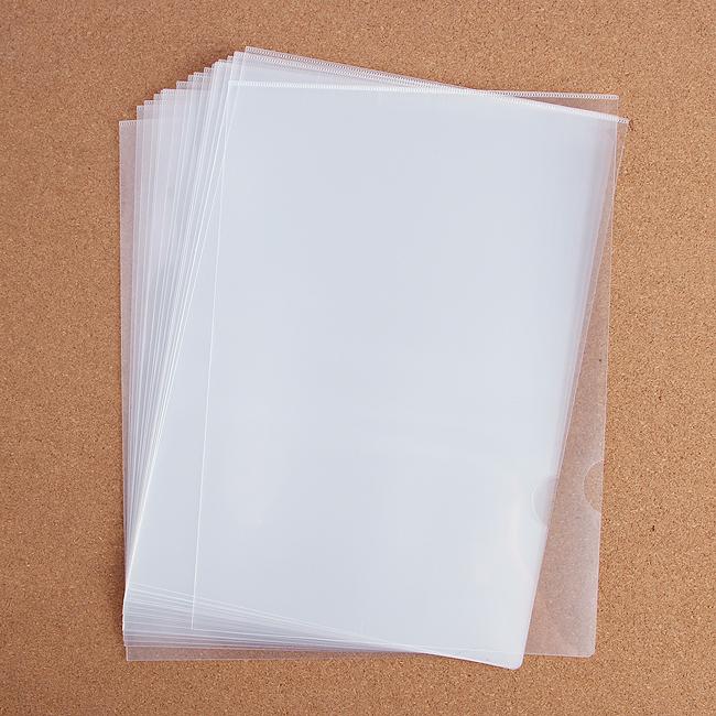L자형 투명 클리어홀더 10p세트 [제작 대량 도매 로고 인쇄 레이저 마킹 각인 나염 실크 uv 포장 공장 문의는 네이뽕]