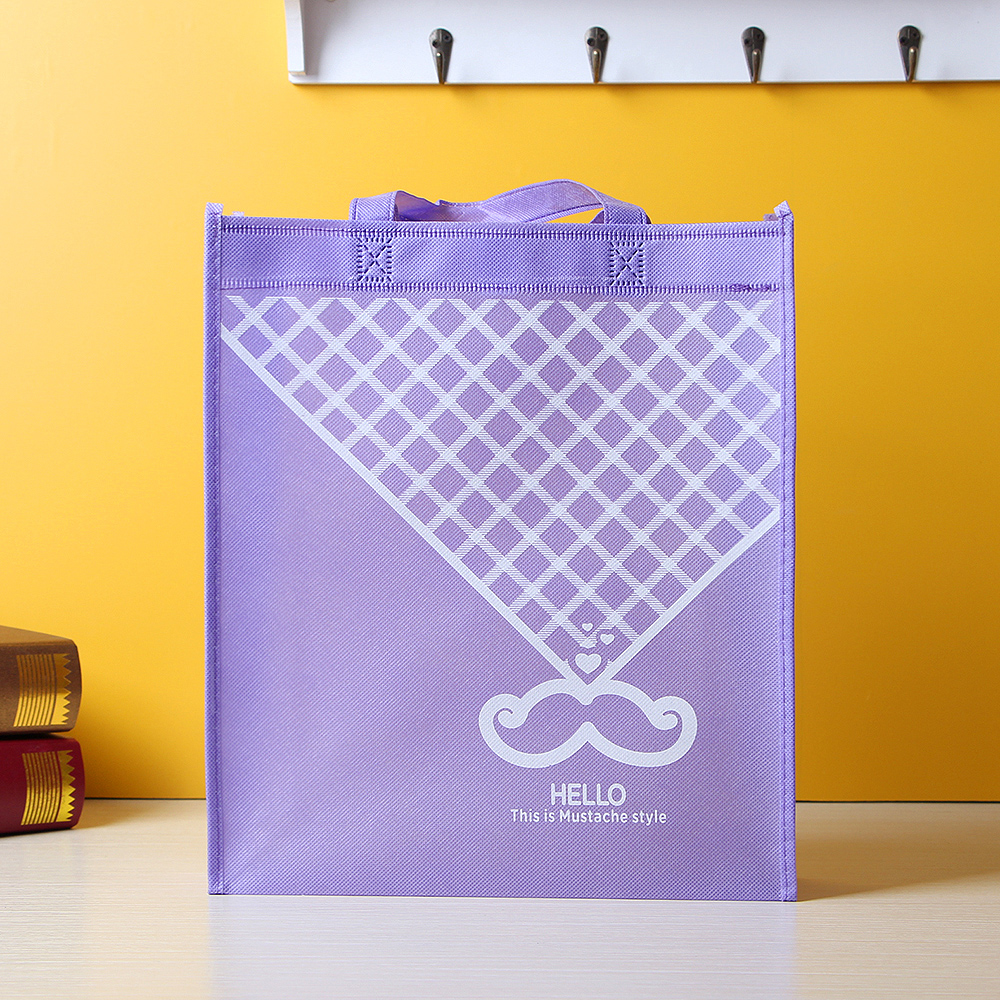 머스타시 부직포 가방 [제작 대량 도매 로고 인쇄 레이저 마킹 각인 나염 실크 uv 포장 공장 문의는 네이뽕]